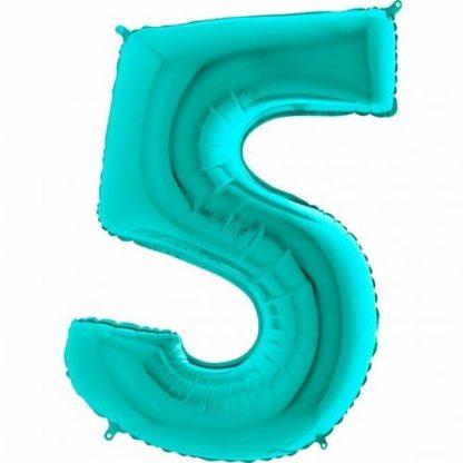 Цифра 5 на день рождения девочке