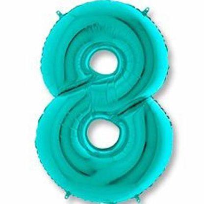 объемные цифры на день рождения 8 тиффани