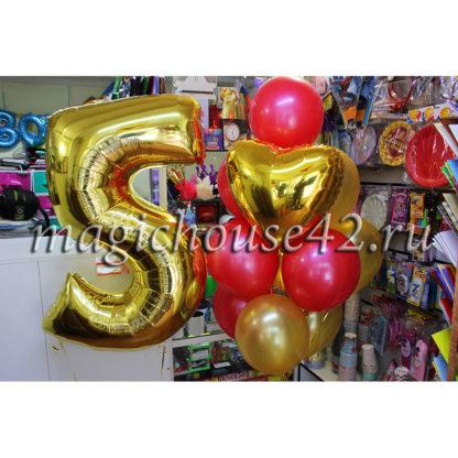 оформление шарами девочке 5 лет