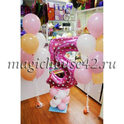 шары на день рождения девочке 5 лет